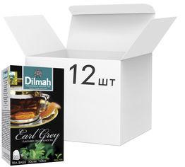 Акция на Упаковка чай Dilmah черного Эрл Грей 12 пачек по 20 пакетиков (19312631142102) от Rozetka