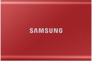 Samsung Portable SSD T7 1TB USB 3.2 Type-C (MU-PC1T0R/WW) External Red от Rozetka