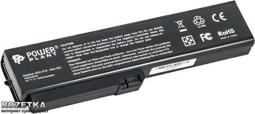Акция на Аккумулятор PowerPlant SQU-522, FU5180LH для Fujitsu Amilo V3205 Black (11.1V/5200mAh/6 Cells) (NB00000119) от Rozetka