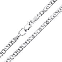 Серебряная цепочка в плетении ромб, 2,5 мм 000118301 45 размера от Zlato