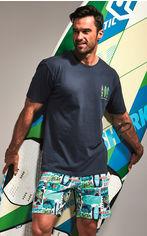 Пижама Cornette 326-20/88 Surfer 2 XL Сине-бирюзовая (5902458147045) от Rozetka
