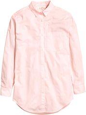 Рубашка H&M 4576185 36 Светло-розовая (AB3000000575987) от Rozetka