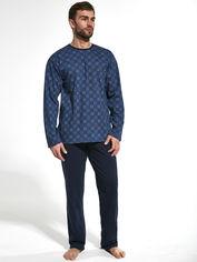 Пижама Cornette 309-20 L 2 шт Темно-синяя с джинсовым (5902458159086) от Rozetka