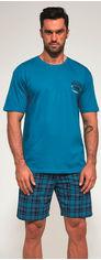 Пижама Cornette 326-20/92 Marine XXL Бирюзово-синяя (5902458147250) от Rozetka