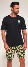 Пижама Cornette 326-20/89 Avocado 3 M Сине-зеленая (5902458147076) от Rozetka