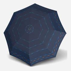 Акция на Зонт складной Doppler 730165S01 полуавтомат Синий от Rozetka