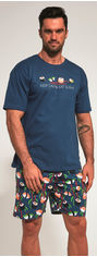 Пижама Cornette 326-20/90 Sushi M Сине-зеленая (5902458147120) от Rozetka