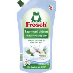 Кондиционер-ополаскиватель Frosch Цветы Хлопка 1 л (4001499116803) от Foxtrot