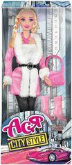 Кукла Ася в розовом пальтишке, Городской стиль от Stylus