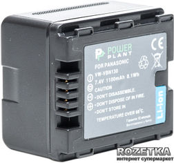 Аккумулятор PowerPlant для Panasonic VW-VBN130 (DV00DV1295) от Rozetka