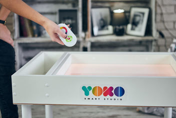 Световой планшет Yoko smart studio Премиум Полный комплект(ножки+крышка) от Y.UA