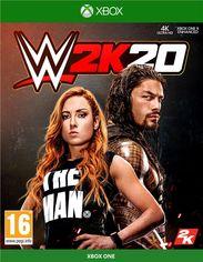 Акция на Игра WWE 2K20 для Xbox One (Blu-ray диск, English version) от Rozetka