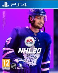 Акция на Игра NHL 20 для PS4 (Blu-ray диск, Russian version) от Rozetka