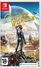 Акция на Игра The Outer Worlds для Nintendo Switch (картридж, Russian version) от Rozetka