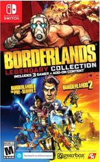 Акция на Игра Borderlands Legendary Collection для Nintendo Switch (картридж, Russian version) от Rozetka