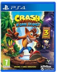 Акция на Игра Crash Bandicoot N'sane Trilogy для PS4 (Blu-ray диск, English version) от Rozetka