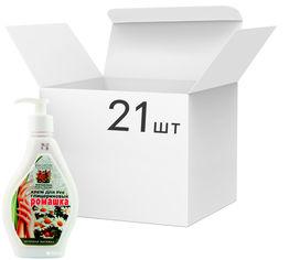 Акция на Упаковка крема для рук Bioton Cosmetics Глицериновый Ромашка 350 мл х 21 шт (4820026153070) от Rozetka
