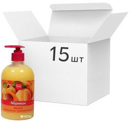 Акция на Упаковка мыла Bioton Cosmetics косметического антибактериального Абрикос 500 мл х 15 шт (4820026153001) от Rozetka