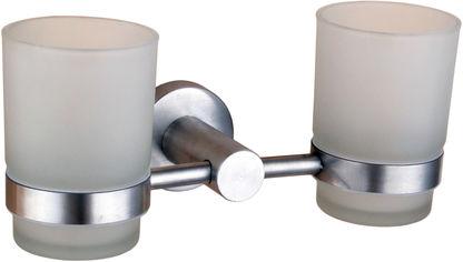 Стакан для ванной двойной GLOBUS LUX SS8428 от Rozetka