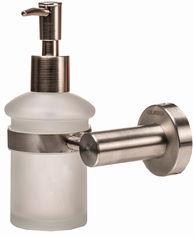 Дозатор для жидкого мыла GLOBUS LUX SS8433 матовое стекло/нержавейка SUS304 от Rozetka