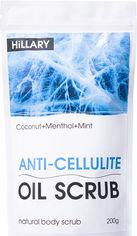Акция на Скраб для тела Hillary Anticellulite Oil Scrub Антицеллюлитный охлаждающий 200 г (2333333300010) от Rozetka