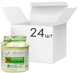 Акция на Упаковка бальзама-ополаскивателя Bioton Cosmetics Nature Пчелиное молочко для всех типов волос 500 мл х 24 шт (4820026152882) от Rozetka