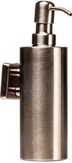Акция на Дозатор для жидкого мыла GLOBUS LUX SQ9432 квадрат нержавейка SUS304 от Rozetka