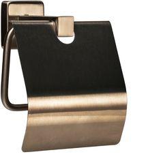 Держатель для туалетной бумаги GLOBUS LUX SQ9410 с крышкой нержавейка SUS304 от Rozetka