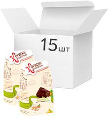 Упаковка конфет Корисна Кондитерська Желейная мечта со стевией 150 г х 15 шт (4820158920519) от Rozetka