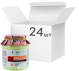 Упаковка масок для волос Bioton Cosmetics Nature окрашенных и поврежденных 500 мл х 24 шт (4820026152899) от Rozetka