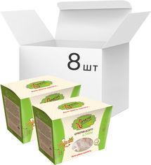 Упаковка шоколадных конфет Корисна Кондитерська Асорти со стевией 180 г х 8 шт (4820158920830) от Rozetka