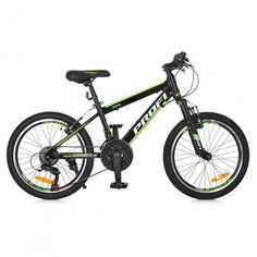 """Велосипед детский 20"""" Profi G20FIFA A20.2 Чёрно-зелёный от Stylus"""