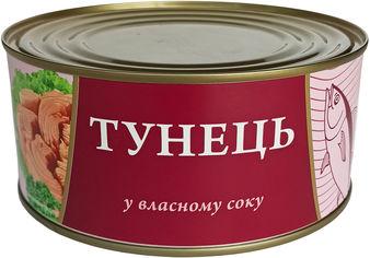 Акция на Тунец в собственном соку Fish Line 1 кг (4820235630089) от Rozetka