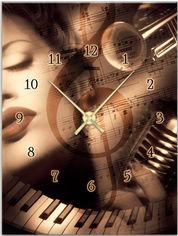 Акция на Настенные часы ART-LIFE COLLECTION 1C-141-30x40-W от Rozetka