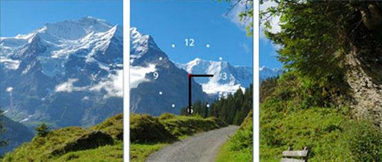 Акция на Настенные часы ART-LIFE COLLECTION W-3P-3040-C01-00003-T от Rozetka