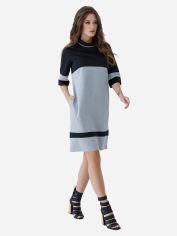 Платье ISSA PLUS SA_11 L Черное с серым (2000431959135) от Rozetka