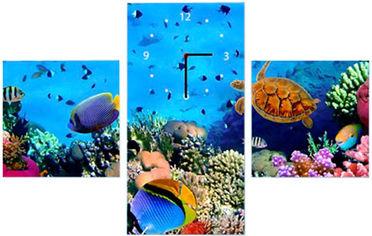 Акция на Настенные часы ART-LIFE COLLECTION W-3P-2525-2550-C01-00007-T от Rozetka