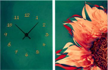Акция на Настенные часы ART-LIFE COLLECTION 1C-164-2p-W от Rozetka