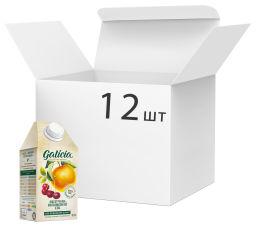 Упаковка сока Galicia Яблочно-вишневый прямого отжима неосветленный 0.5 л х 12 шт (4820151001482_4820209560725) от Rozetka