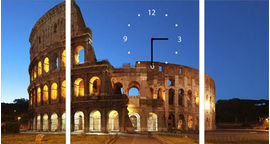 Акция на Настенные часы ART-LIFE COLLECTION W-3P-2045-4045-C01-00003-T от Rozetka