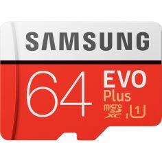 Карта памяти SAMSUNG microSDXC 64GB EVO PLUS UHS-I U1 (MB-MC64HA/RU) от Foxtrot