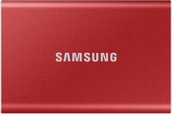 Акция на SSD накопитель SAMSUNG 1TB USB 3.2 Gen 2 T7 Red (MU-PC1T0R/WW) от MOYO