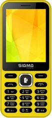 Мобильный телефон Sigma mobile X-style 31 Power Yellow от Територія твоєї техніки