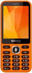 Мобильный телефон Sigma mobile X-style 31 Power Orange от Територія твоєї техніки