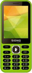 Мобильный телефон Sigma mobile X-style 31 Power Green от Територія твоєї техніки