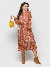 Платье Larionoff Polina 46 Терракотовое (Lari2000405621549) от Rozetka