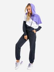 Спортивный костюм ISSA PLUS SA-33 M Черный с фиолетовым (issa2000482912905) от Rozetka