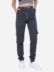 Акция на Спортивные штаны ISSA PLUS 9980 XL Темно-серые (2000443537611) от Rozetka