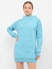 Платье Gymshark GLPO013-DKTM M Голубое (5056147997302) от Rozetka