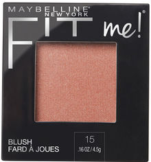 Румяна Maybelline New York Fit Me 15 Нюдовый 4.5 г (3600531537364) от Rozetka
